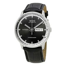 Mido Commander II Automatic Anthracite Dial Mens Watch M016.430.16.061.80