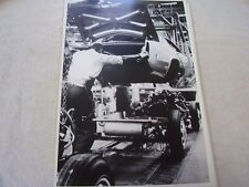 1968 CADILLAC ELDORADO ON ASSEMBLY LINE   12 X 18 LARGE PICTURE   PHOTO
