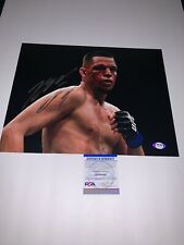 Nate Diaz Signed autograph 11x14 Photo UFC 196 Conor Stockton 209 PSA/DNA COA