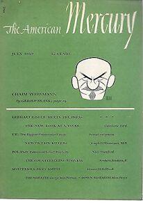 The American Mercury Magazine--July 1949-----428