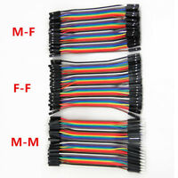 120pcs Male to Female Dupont wire cables Jumpers Cable For Arduino Breadboard