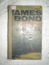 JAMES BOND MOONRAKER BY IAN FLEMING RARE BOOK 1964