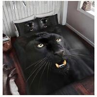 3D BLACK PANTHER Printed Blanket Mink Throw Faux Fur Luxury Bed Sofa Soft Fleece