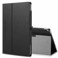 POETIC SlimFolio Black Case【Slim Leather Stand Folio】For iPad Pro 12.9 (2017)