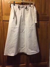 Vintage White Wrap Skirt