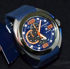 Locman Mare Reloj Hombre Cronógrafo en Titanio y Fibra de carbono Lista