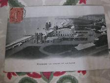 CPA Dieppe Le Casino et la plage Seine-Maritime