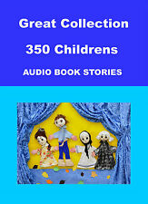 Great Collection of 350 Children's Stories Audio Books on DVD Rom