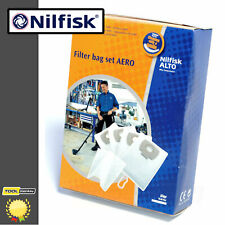 Nilfisk Alto Aero Replacement Fleece Bags Pack of 4 - 302002404