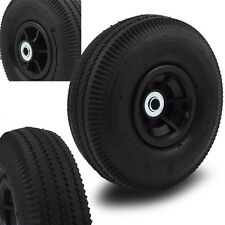 "(2) 10"" Air wheels Replacement Tires For Hand Truck Dolly Cart Wheel kayak hub"