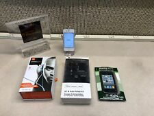 IPHONE 4S WHITE~8GB~FACTORY UNLOCKED~BUNDLE~FREE SHIP