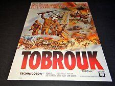 TOBROUK rock hudson g peppard   affiche cinema  1966