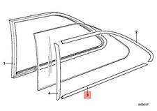 BMW E21 window rear moulding lower left  !!NEW!! GENUINE 51361840911