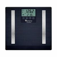 Detecto iConnect Digital Bluetooth Bathroom Body Fat BMI Smart Scale