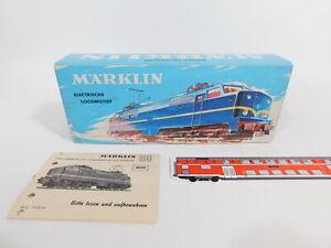 CT250-0,5# Märklin H0 Leerkarton mit Beschreibung, gebraucht, für 3051 E-Lok NS