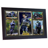 Valentino Rossi photo autograph print signed photo FRAMED VALENTINO ROSSi