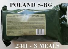 Food Ration MILITARY ARMY Daily Pack POLISH 24H 3 MEALS MRE Emergency Set Combat
