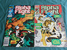 Alpha Flight  84 85 86 87 88 89 ( 90 to 112 )  28 books except 105  Vol 1