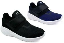 MENS NEW SOFT CUSHIONED COMFORT STRAP GRIP SOLE GYM RUNNING TRAINER SHOE