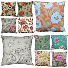Pillow Cover*A-Grade Cotton Canvas Sofa Seat Pad Cushion Case Custom Size*Lf4