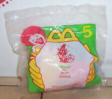 1998 McDonalds Haunted Halloween Ronald Happy Meal Toy #5 MIP