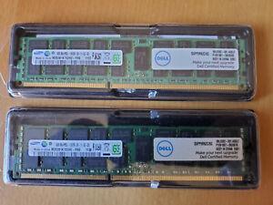 2 - 8GB PC3L Samsung/Dell RAM