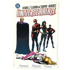 Titans Legion of Superheroes Universe Ablaze #2 DC 2000 NM Flash Saturn Girl
