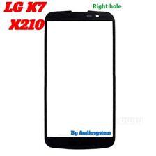 VETRO VETRINO ESTERNO DISPLAY PER LG OPTIMUS K7 X210 NO TOUCHSCREEN NERO DIGITIZ