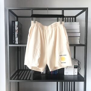 Sporty And Rich Emily Oberg Sun Logo Shorts Brand New Size XL