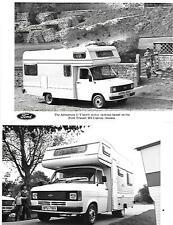 5 FORD ADVANTURA  MOTORHOME 4-6 BERTH MODELS PRESS PHOTO 'Brochure'