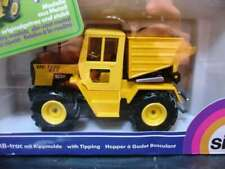 WOW EXTREMELY RARE #2951 Mercedes T800 Tractor w/Tipping Hopper Yellow 1:32 Siku