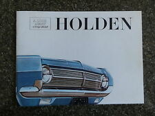 1965 HD HOLDEN BROCHURE + PLUS FREE PRICE LIST AND SWING CARD 100% GUARANTEE.