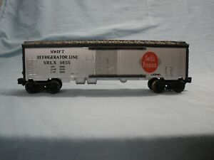 0 Scale Lionel 6-9855  Swift Hydroframe-60 reefer mint cond