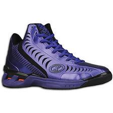 Spalding Threat Men's Purple/Black Basketball Sneakers 10M