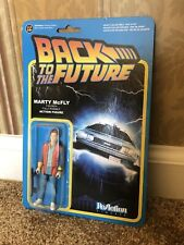 "Marty McFly ReAction 3 3/4"" Posable Action Figure Funky Back To The Future New"