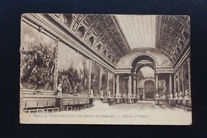 Postcard Antique CPA Palace Of Versailles - Galerie Of Battles