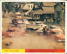 THE LOVE BUG WALT DISNEY ORIGINAL LOBBY CARD HERBIE VW BEETLE CLASSIC CARS RACE
