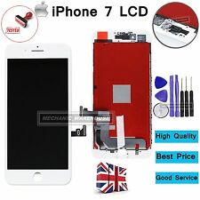 "For iPhone 7 4.7"" LCD White Screen Digitizer Touch Display Replacement Assembly"