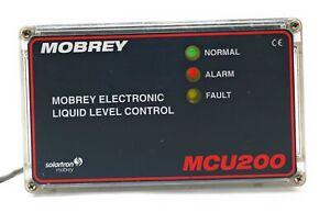 Mobrey MCU201 Ultrasonic Liquid Level Detection Systems SN.SW023088