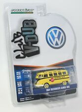GREENLIGHT CLUB V-DUB VW 1964 VOLKSWAGEN SAMBA SCHOOL BUS 1:64