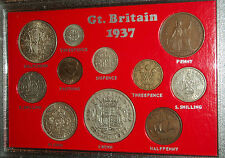 King George VI The Coronation Crown Coin Year Collection Collector Gift Set 1937