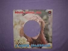 I Santo California – Dolce Amore Mio-Copertina Forata Per Disco Vinile 45 Giri