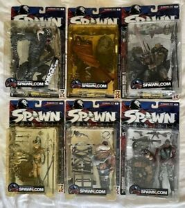 Spawn Classic SERIES 17 R3 McFarlane Toys Action Figures complete set of 6 MINT