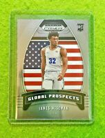 JAMES WISEMAN PRIZM ROOKIE CARD JERSEY #32 MEMPHIS RC WARRIORS 2020 Prizm GLOBAL