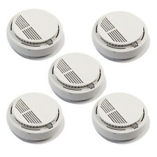 5x High Stable Wireless Smoke Detectors Fire Alarm System