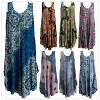 Women Maxi Dress Boho Bohemian Beach Summer Sleeveless Coctail Evening Long