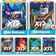 X100 Spirits Set ( Fast Sending ) Coin Master Cards (102 cards)