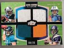 2011 Topps Prime Cam Newton / Ponder / Gabbert / Locker Quad Jersey RC /25