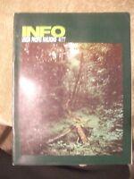 Union Pacific Railroad Employees INFO Magazine 4/1977