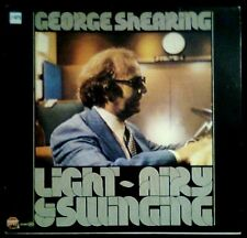 GEORGE SHEARING - Light - Airy & Swinging - SPAIN LP CFE / Stop Jazz / MPS 1982